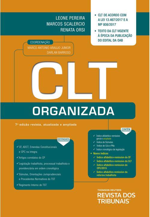 CLT-Organizada---7ª-Edicao