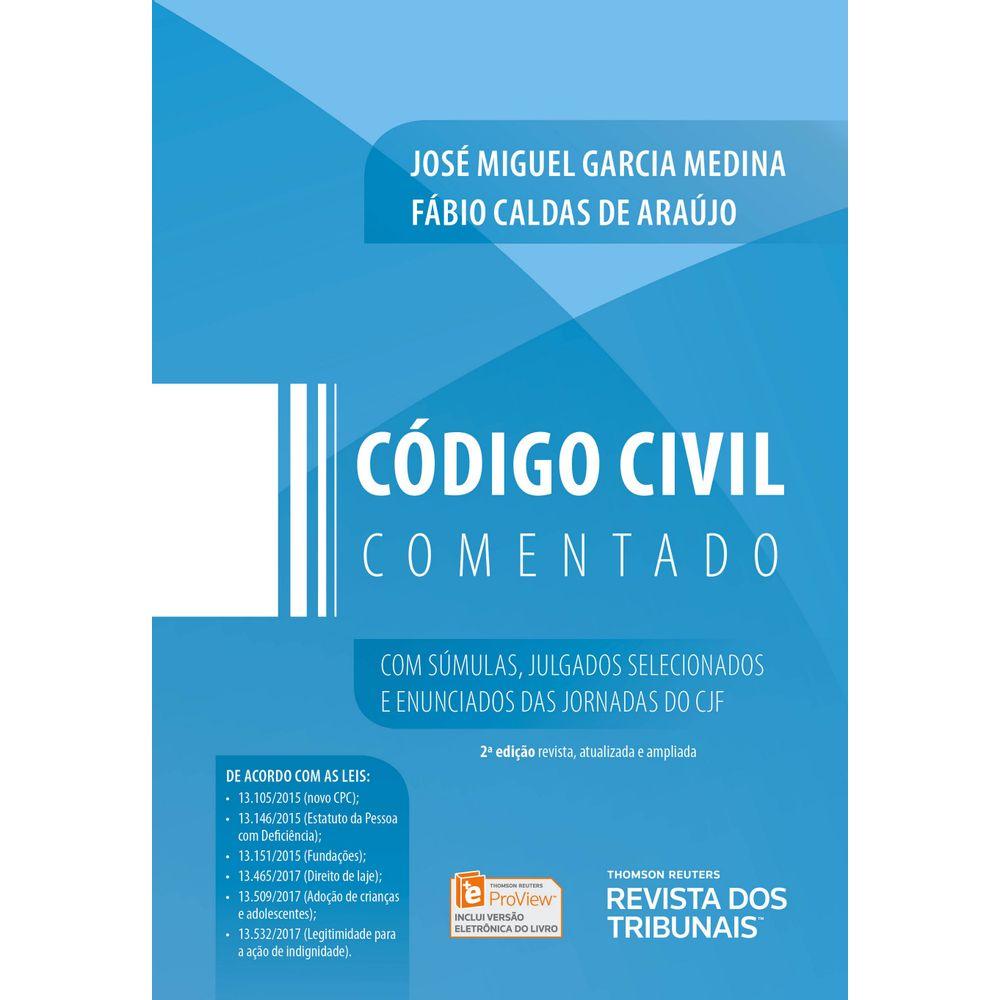 6c805d59f Código Civil Comentado - 2ª Edição - Livraria RT - thomsonreuters
