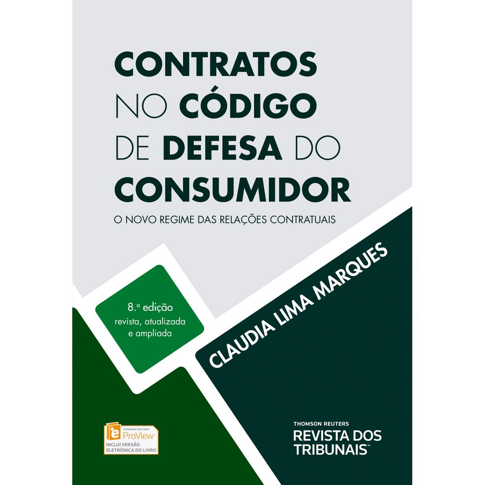 8dcbb5beefc2 Contratos no Código de Defesa do Consumidor - 8ª Edição - Livraria ...