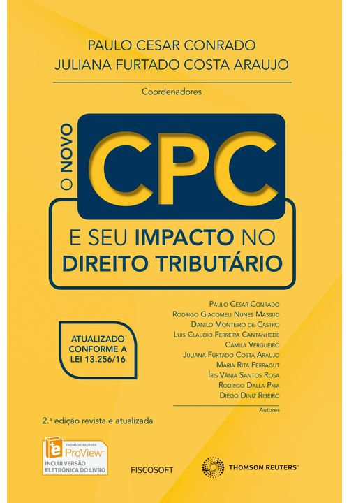 O-Novo-CPC-e-seu-impacto-no-Direito-Tributario---2ª-Edicao
