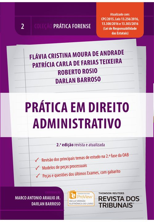 Colecao-Pratica-Forense-Volume-2---Pratica-em-Direito-Administrativo---2ª-Edicao