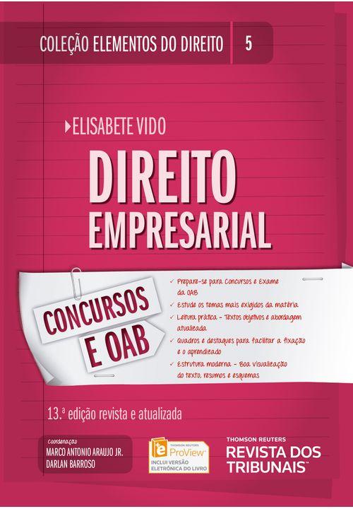 Colecao-Elementos-do-Direito-Volume-05---Direito-Empresarial--13ª-Edicao