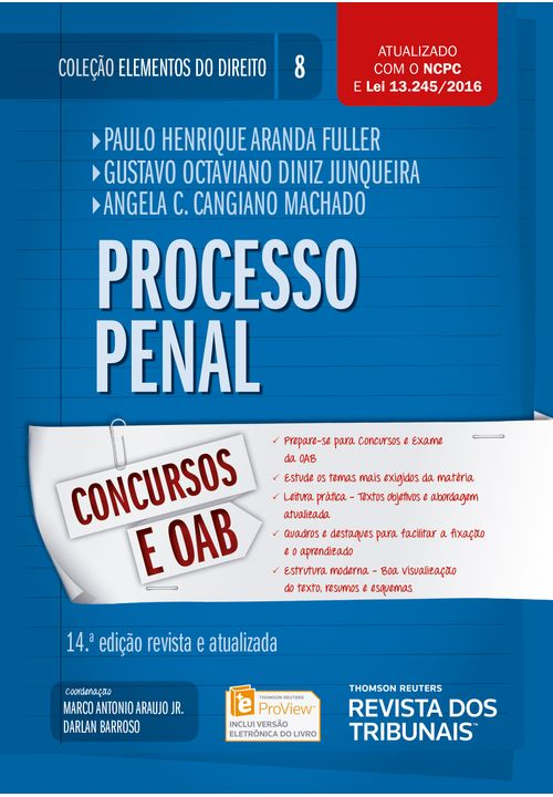 Colecao-Elementos-do-Direito-Volume-08---Processo-Penal---14ª-Edicao