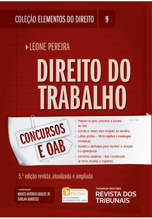 Colecao-Elementos-do-Direito-Volume-09---Direito-do-Trabalho---5ª-Edicao