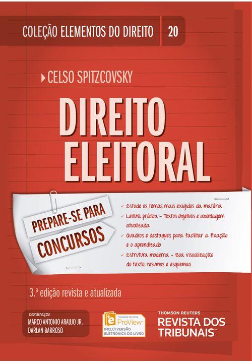 Colecao-Elementos-do-Direito-Volume-20---Direito-Eleitoral---3ª-Edicao