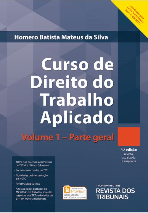 Curso-de-Direito-do-Trabalho-Aplicado-v.-1---Parte-Geral---4ª-Edicao