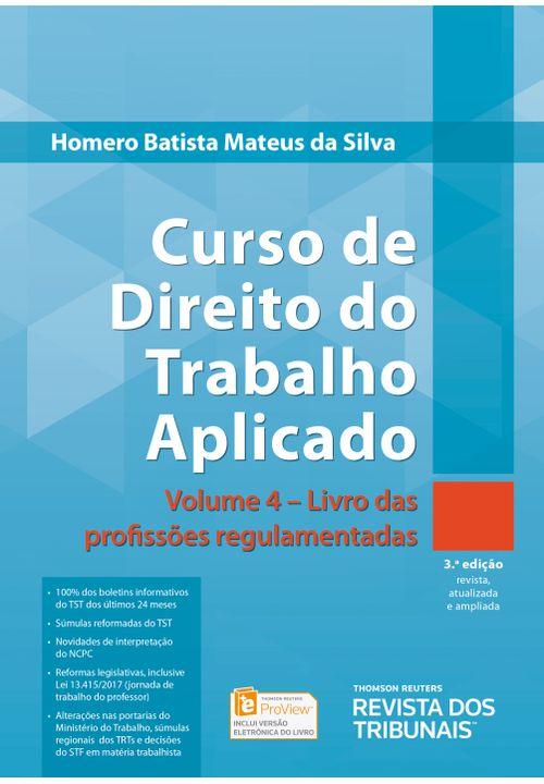 Curso-de-Direito-do-Trabalho-Aplicado-v.-4---Livro-das-Profissoes-Regulamentadas---3ª-Edicao
