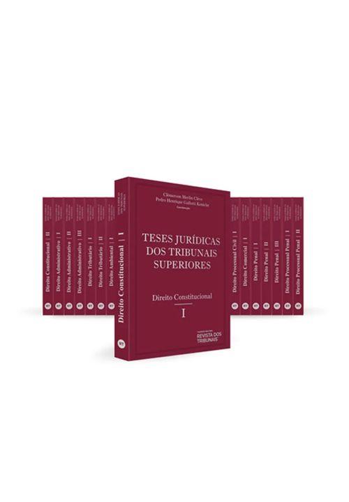 Colecao-Teses-Juridicas-dos-Tribunais-Superiores---19-Tomos---1ª-Edicao