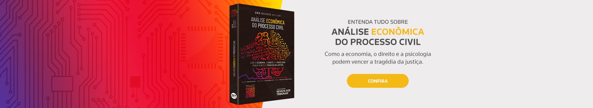 Obra Análise Econômica do Processo Civil