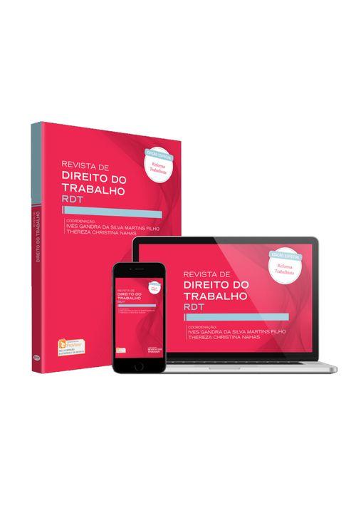Revista-de-Direito-do-Trabalho---RDT-volume-173---Colecao-de-2018---12-Volumes