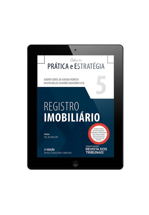 Colecao-Pratica-e-Estrategia-Volume-5---Registro-Imobiliario-2ªedicao