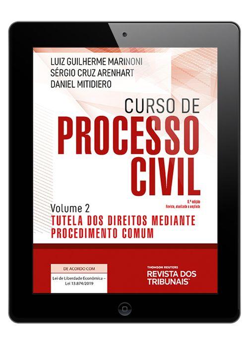 E-book--Curso-de-Processo-Civil-Volume-2-Tutela-dos-Direitos-Mediante-Procedimento-Comum-6º-edicao