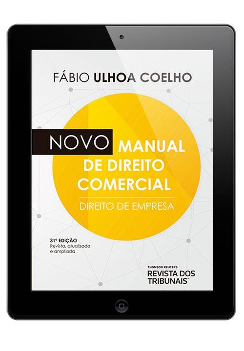 E-book--Novo-Manual-de-Direito-Comercial-31º-edicao