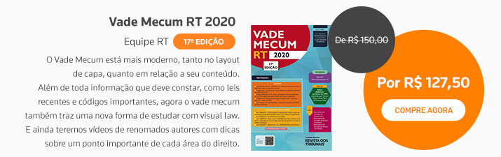 Vade Mecum RT 2020 17º edição