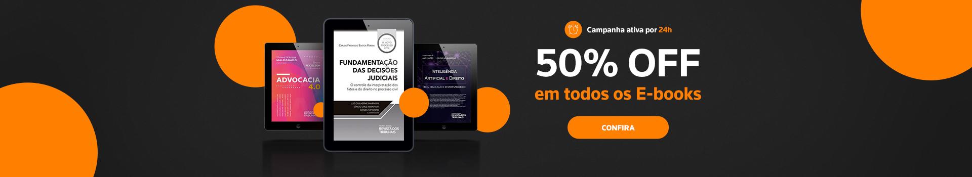 E-books 50%