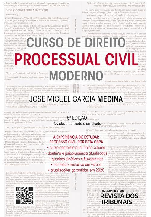 Curso de Direito Processual Civil Moderno 5º edição