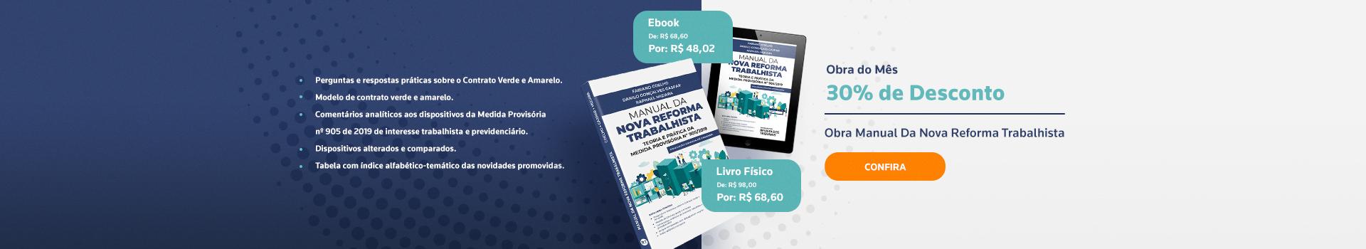 Manual da Nova Reforma Trabalhista