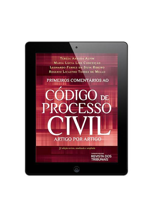 E-book-Primeiros-Comentarios-ao-Codigo-de-Processo-Civil-3º-edicao
