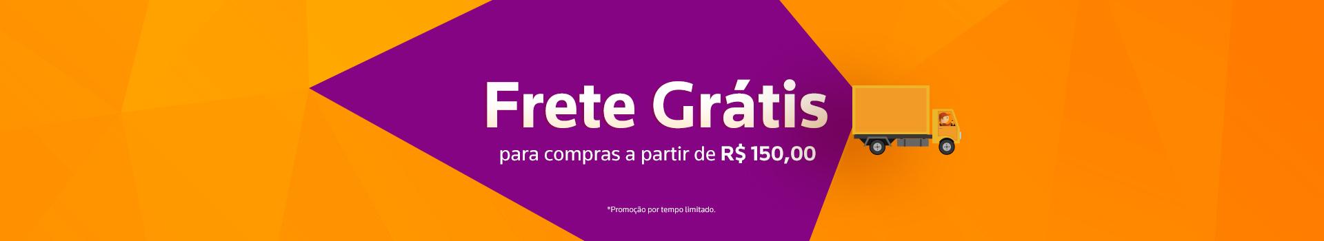 Frete Grátis 150,00