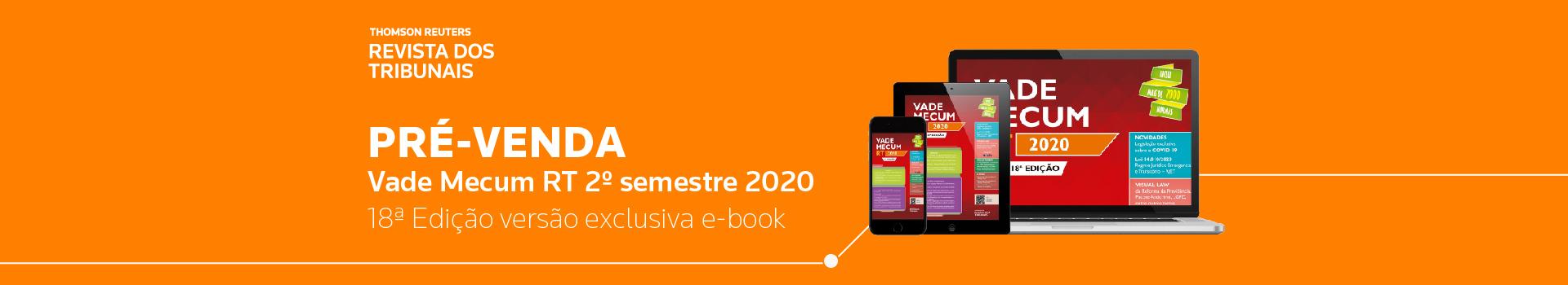 E-book Vade Mecum RT 18º edição
