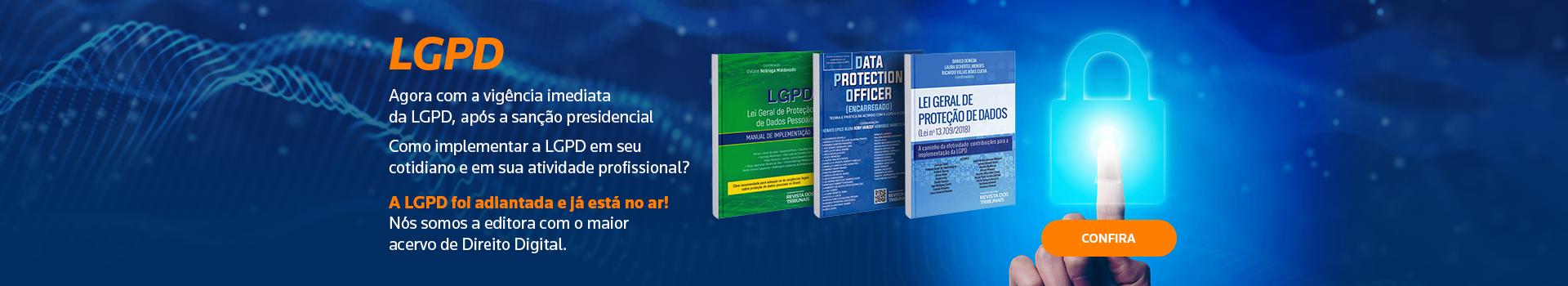LGPD - Livros Digitais