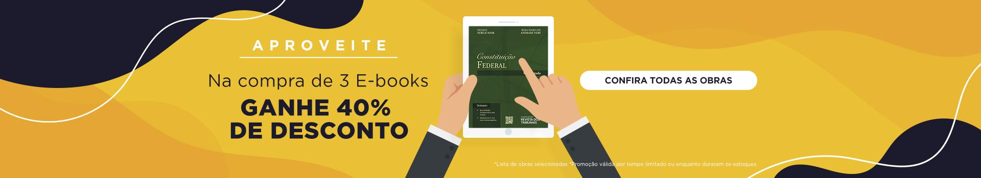 3 E-books - 40% OFF