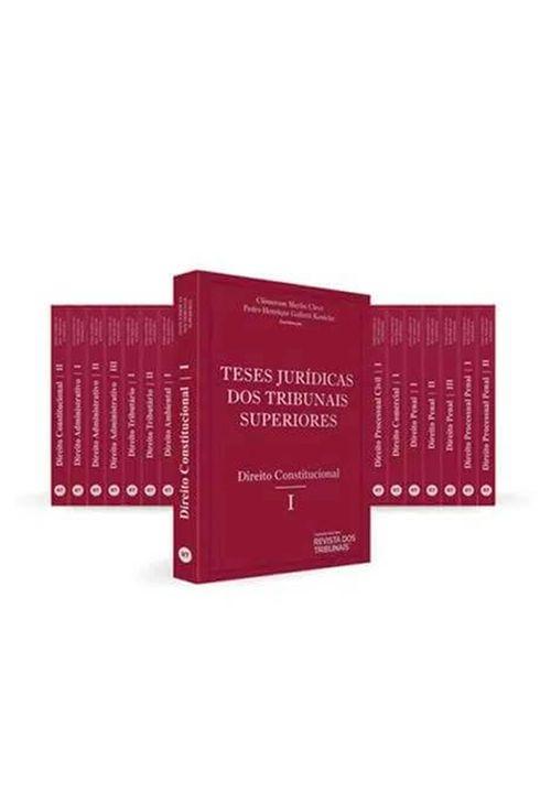 Colecao-Teses-Juridicas-dos-Tribunais-Superiores---19-Tomos---1ª-Edicao---Livraria-RT